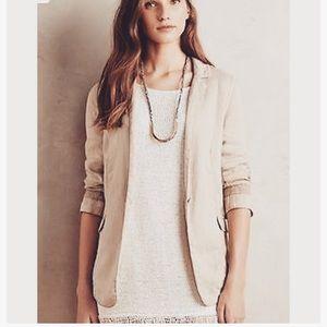 Isabella Bird Linen Blazer